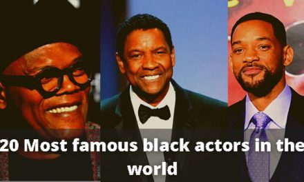 20 Most famous black actors in the world